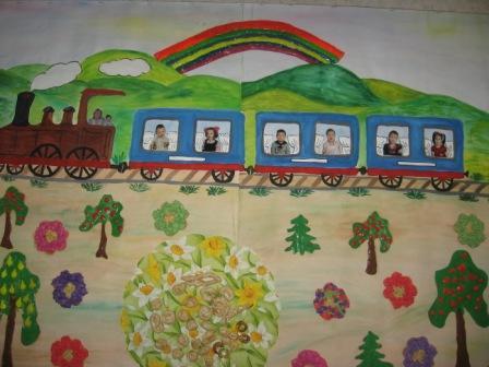 На поезде в лето