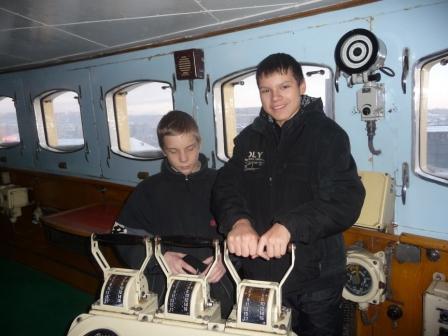 """Экскурсия на ледокол """"Ленин"""""""